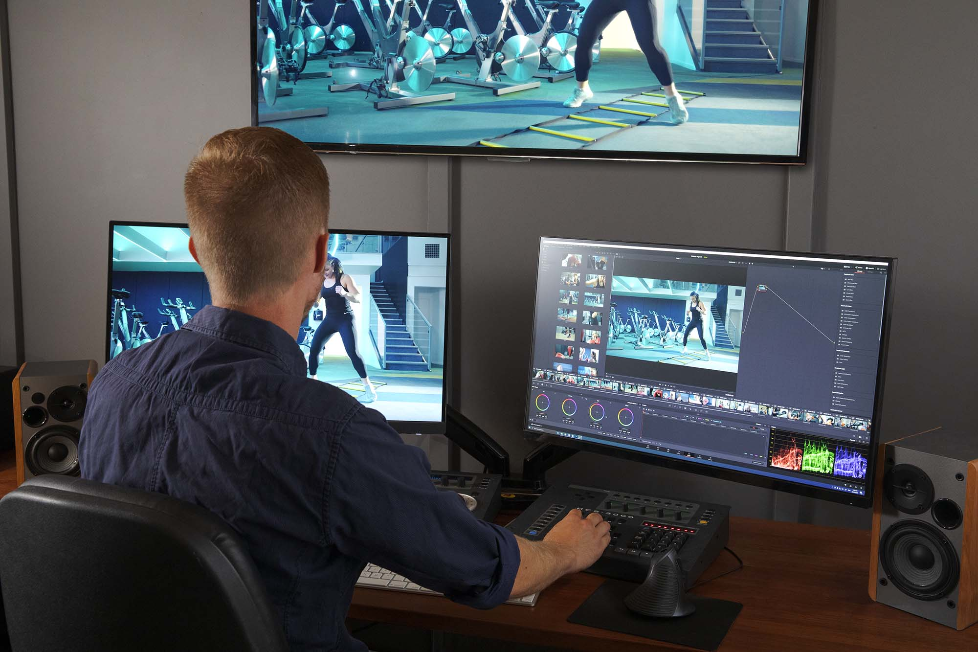 Vid.Co Media Group's Video Editing Suite